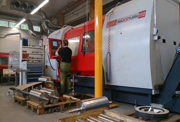 Our CNC machining centre